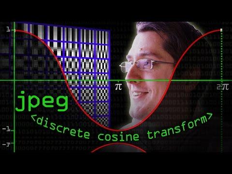 JPEG DCT, Discrete Cosine Transform (JPEG Pt2)- Computerphile
