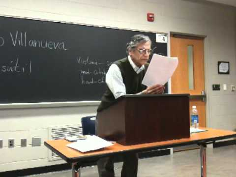 Chicano/Latino Studies Michigan State University 2011: Tino Villanueva Chicano Poet (15 of 20)