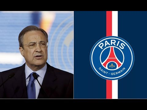 Real Madrid president in Paris to seal deal for PSG star'