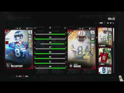 "Madden 17 Ultimate Team-2 New Legends! Ed "" To Tall "" Jones! Ed Mccaffery!-Madden 17 Ultimate Team"