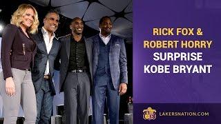 Rick Fox & Robert Horry Surprise Kobe Bryant