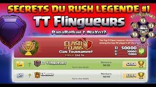 Les SECRETS du RUSH LÉGENDE #1 chez les TT Flingueurs feat. ParaBellum & iNaXozZ