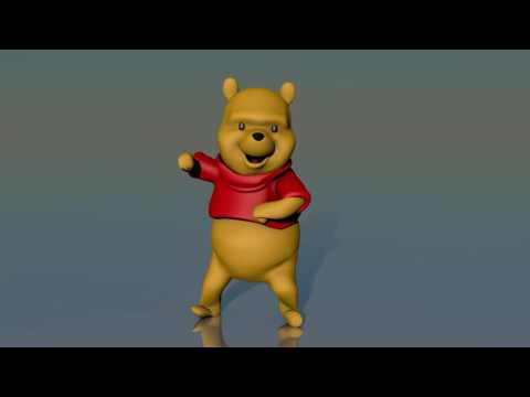 [Shitposts] 3D Winnie The Pooh dances to the Moscow song