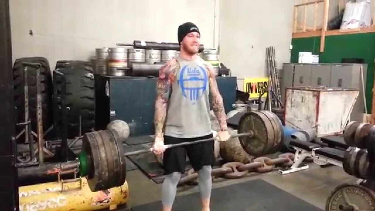 Higa Monster Jesse Williams Cassius Marsh 1 23 15 Workout