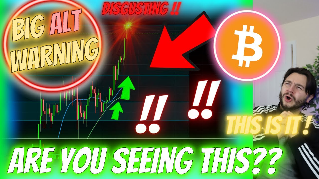 THIS BITCOIN ERUPTION CHANGES THE GAME! - BIG ALTCOIN **WARNING** CAN BITCOIN REALLY DO THIS??