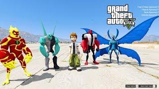 GTA 5 Mod - Giải Cứu Ben 10 Ra Khỏi Nhà Tù