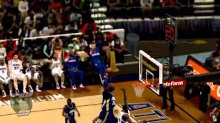 NBA 2K12 PC My Player - [9th game] Nasty Slam