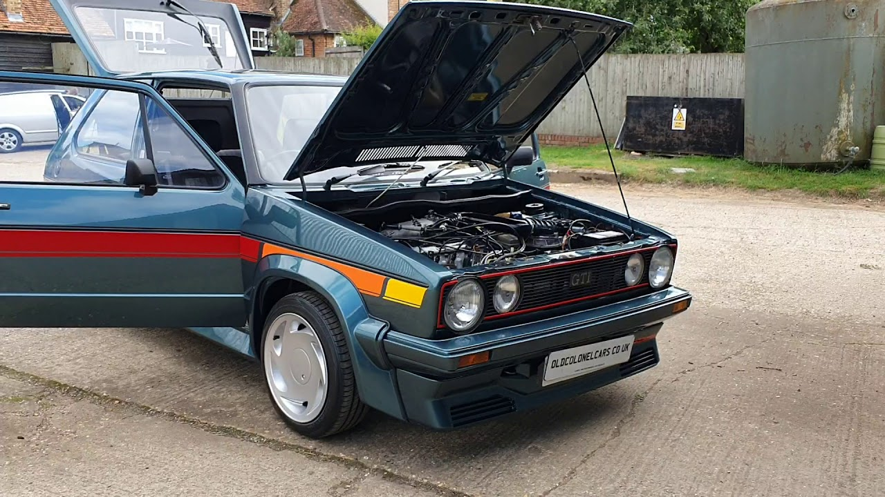 Vw Golf Gti Mk1 Kamei X1 Interior Etc Oldcolonelcars Co Uk Youtube