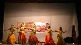 TOP TAMIL CINE SEMI CLASSICAL DANCE- AROOR NRUTHAJYOTHI