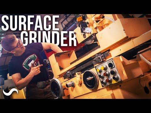 New Workshop Addition!! SURFACE GRINDER - Unloading/installing/overview!