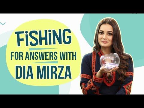 Fishing for Answers with Dia Mirza  Sanju  Bollywood  Pinkvilla  Ranbir Kapoor