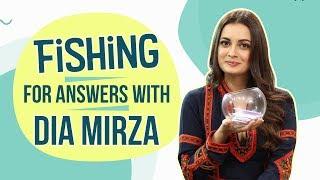 Fishing for Answers with Dia Mirza | Sanju | Bollywood | Pinkvilla | Ranbir Kapoor