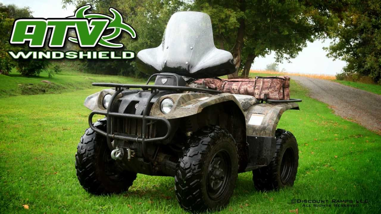 Atv Windshield Youtube