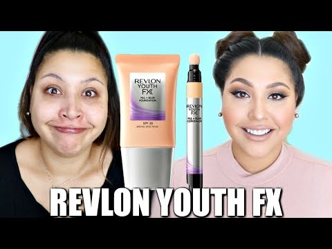 REVLON YOUTH FX FOUNDATION + CONCEALER: WOOP OR WOMP?
