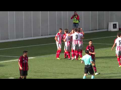 Segunda B 2017-18. Goles Arenas Club 2 - Bilbao Athletic 2
