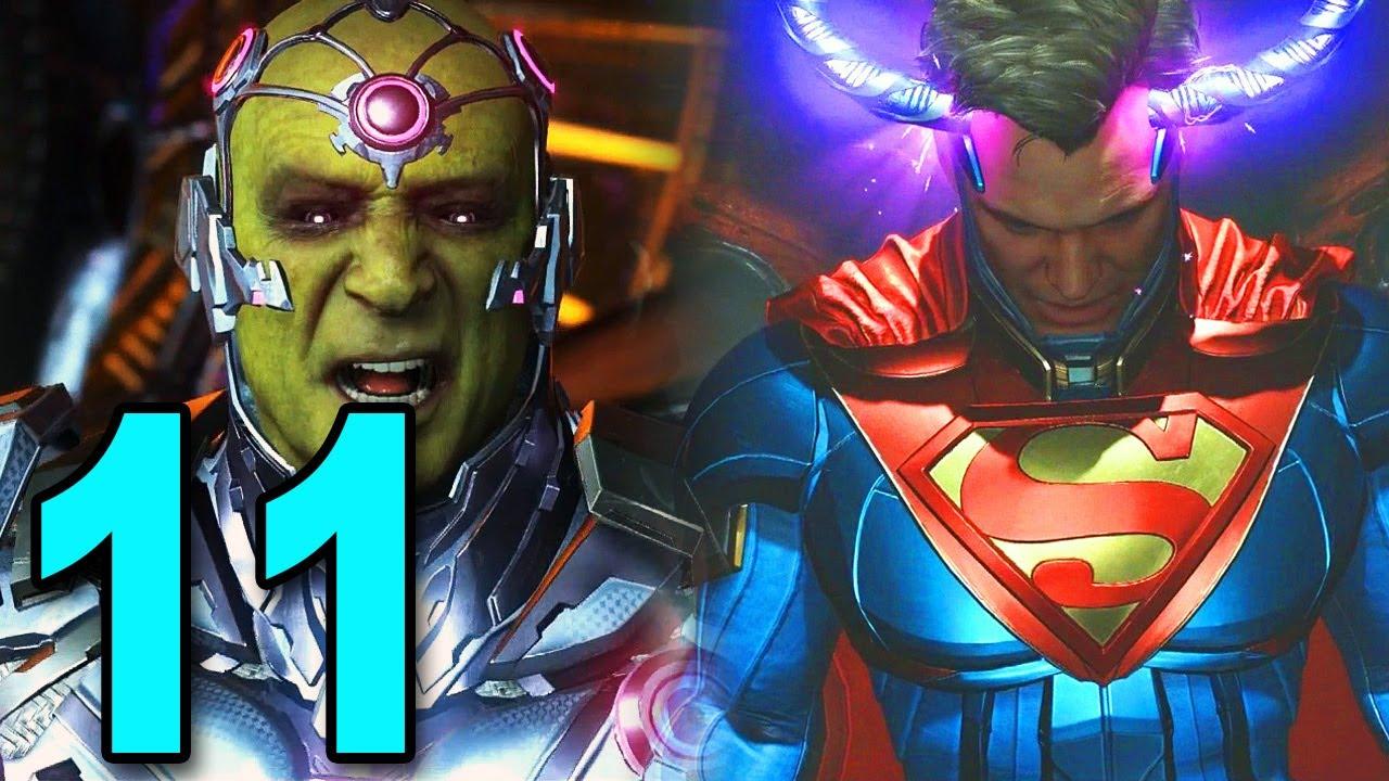 Download Injustice 2 - Part 11 - SUPER MAN VS BRANIAC!