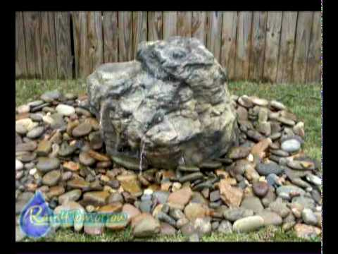 4 Artificial Stone Bubbler Water Fountains Youtube