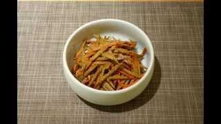 Japanese Kinpira Salad (Burdock Salad)