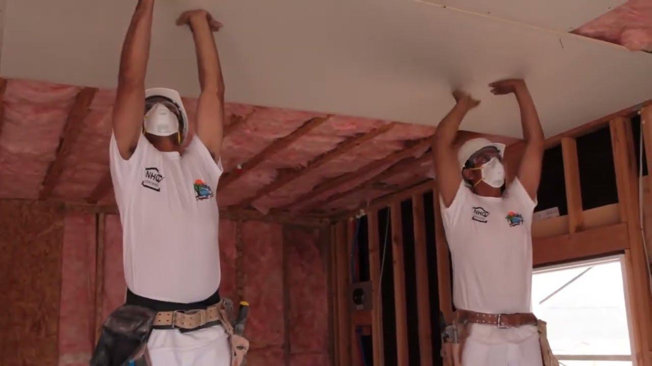 Training Series Drywall Hanging Spanish