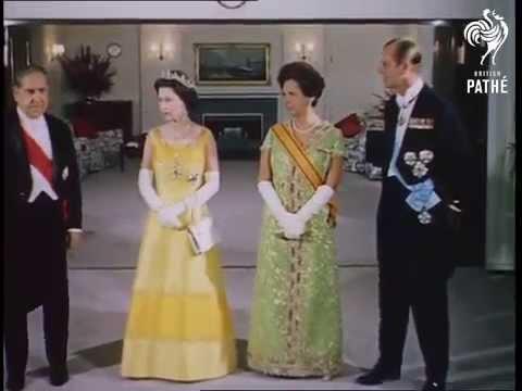 Rainha Elizabeth II visita Brasil 1968