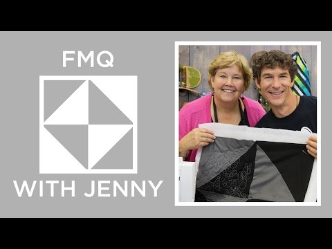 Free Motion Quilting Basics: Sync & Rhythm with Rob Appell and Jenny Doan