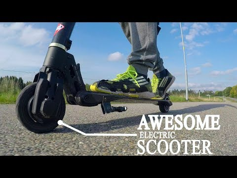 Carbon Fiber Electric Scooter Review - Affordable Transportation