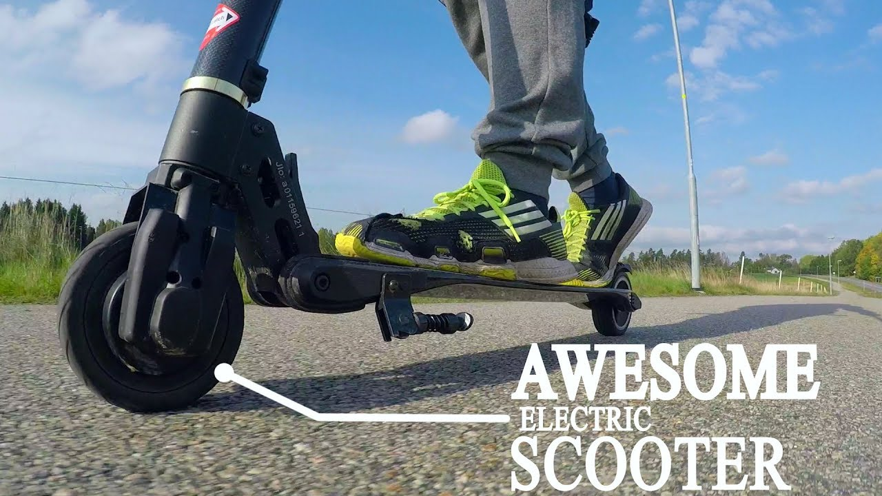 Carbon Fiber Electric Scooter Review Affordable Transportation