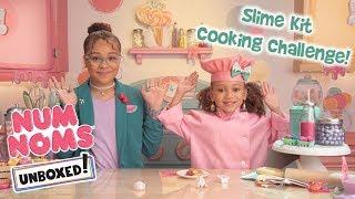 UNBOXED! | Num Noms | Season 4 Episode 1: Slime Kit Cooking Challenge!