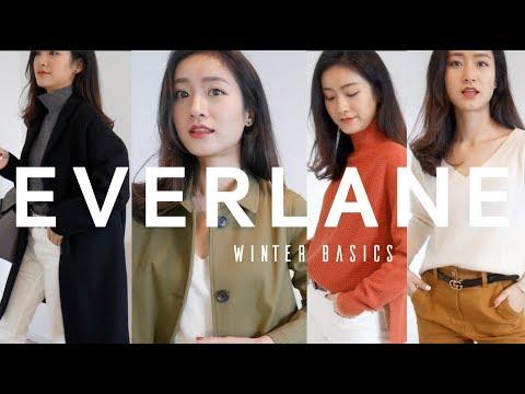 Everlane Winter Basics|秋冬衣橱必备基本款|AD