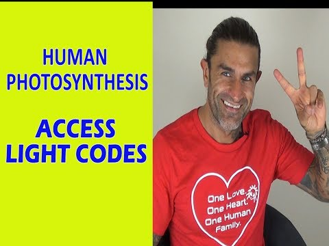 HUMAN  PHOTOSYNTHESIS (JERRY SARGEANT) Light Code Activation & Power of the Sun