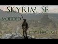 Skyrim SE Modded - Building the Windstad Mines