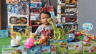Mainan Helikopter Paw Patrol, Dinosaurus, Ayam Jantan, Pesawat Minion & Penguin, Yahh..Gavin nangis