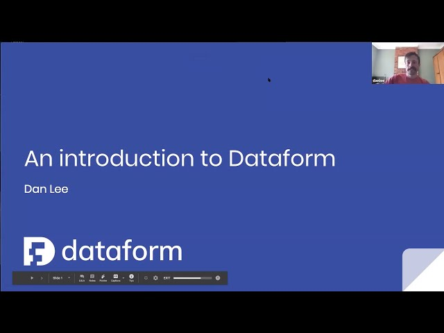 Locally Optimistic Tool Talk: Data Modeling with Dataform