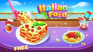 Italian Food – Cheese Lasagna Cooking & Pasta Game by FunPop