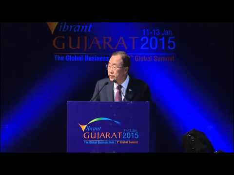 Mr. Ban Ki Moon, Secretary General, United Nations at Inaugural Session of VGGS