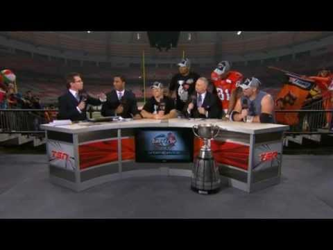 CFL on TSN interviews 2011 Grey Cup Champions!