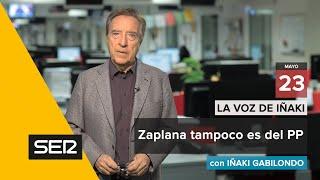 La voz de Iñaki (23/05/18): Zaplana tampoco es del PP