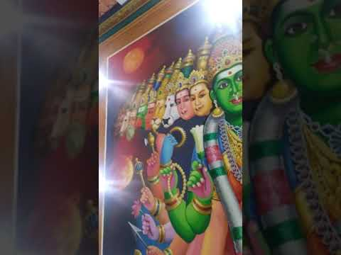 Samaipuram amman temple walls picture
