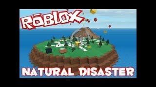 Jouer roblox survie en cas de catastrophe naturelle (Désolé pour l'Internet lent)