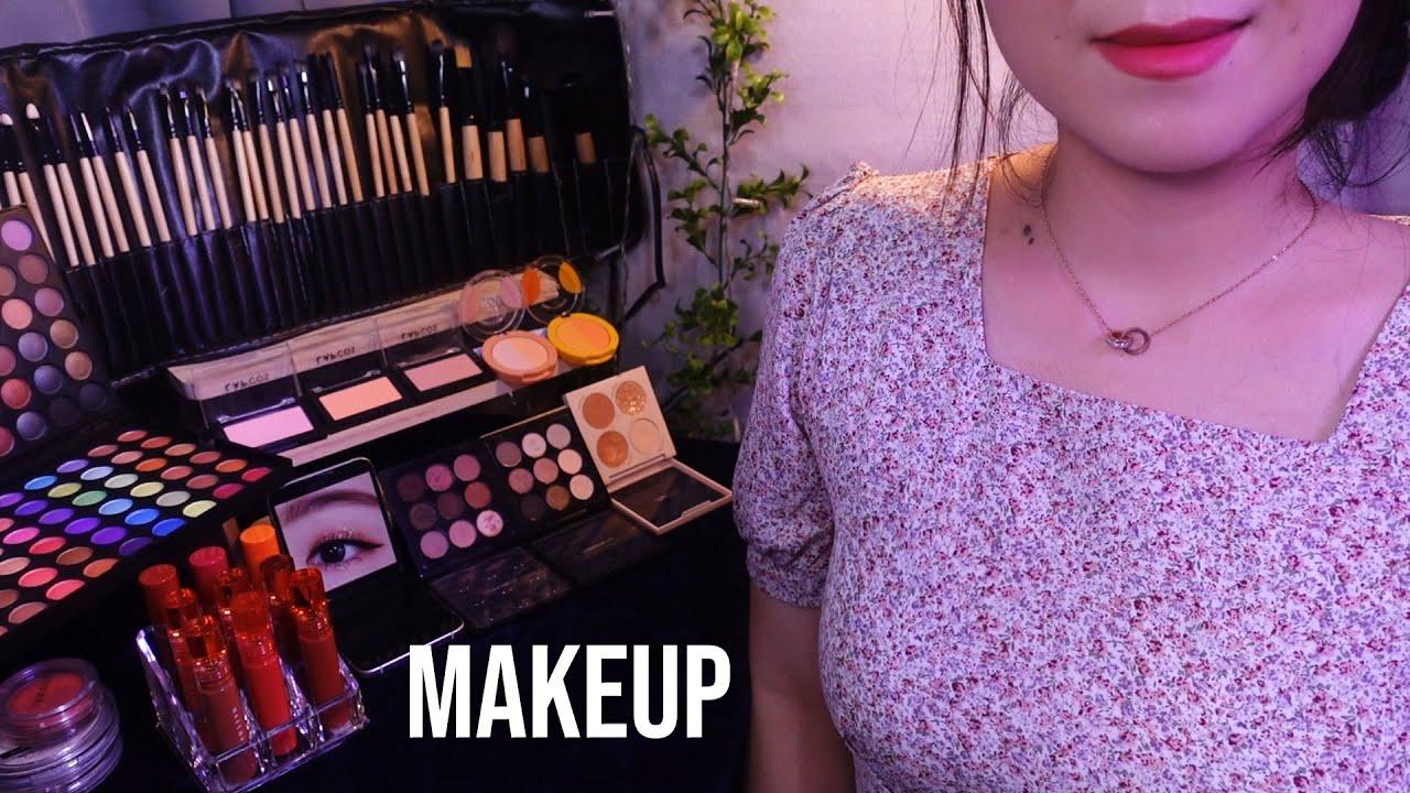 ASMR Makeup Artist Does Your MAKEUP✨ (Layered + No Talking)