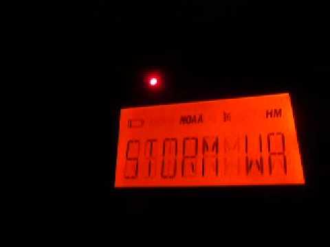 Severe Thunderstorm Warning (EAS #501)