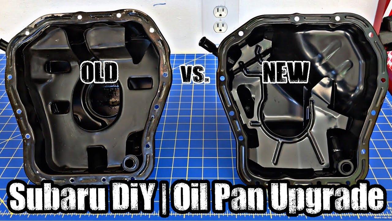 Subaru DiY | Oil Pan Upgrade [R-STi Build]