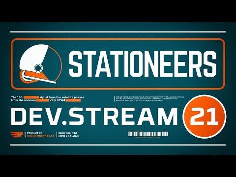 Stationeers Dev Stream 21 - Final Stream Before Launch