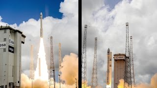IXV timelapse: preparation to liftoff