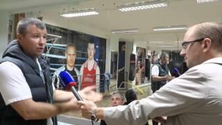 Терпила Гришин Александр  опозорил весь нижегородский бокс.