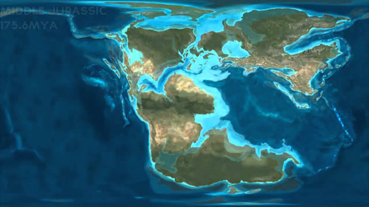 Earths natural geographic history palaeogeography from ediacaran earths natural geographic history palaeogeography from ediacaran to quarternary present youtube publicscrutiny Images