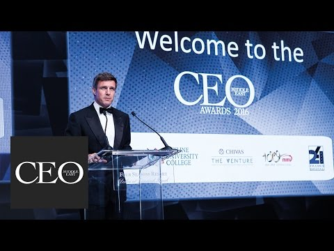 CEO Middle East Awards 2016 - LIVE FEED