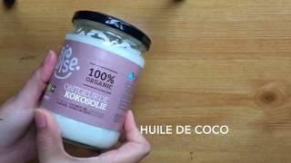 DIY Crème fouettée corps/visage (huile de coco de chez action )..مرطب للجسم والوجه سهل