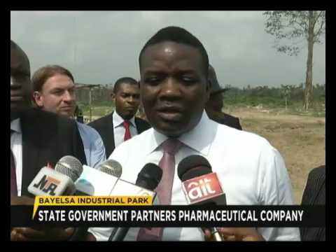 Bayelsa industrial park : State Government partners with pharmaceutical company