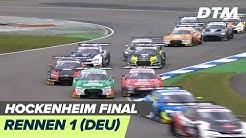 DTM Hockenheim Finale 2019 - Rennen 1 - RE-LIVE (Deutsch)